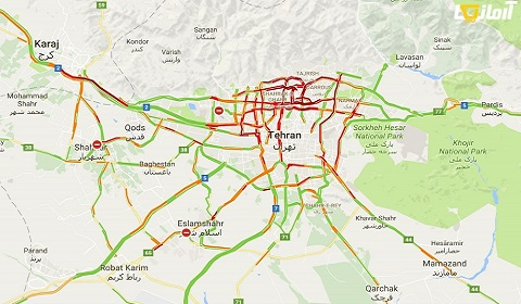 گوگل چطور می تواند ترافیک تمام خیابان ها و کوچه ها را در تمام دنیا نشان دهد؟