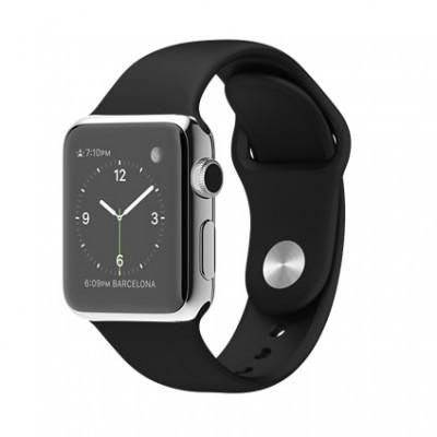 ساعت هوشمند اپل  Apple Watch - Stainless Steel - Black Sport