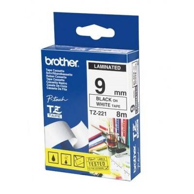 کاست برچسب لیبل پرینتر برادر brother TZ-221 Tape Cassette