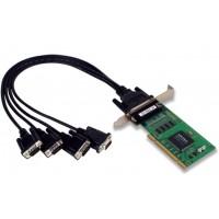 کارت مالتی پورت مبدل سریال به PCI موگزا MOXA CP-104EL-DB9M PCI serial board