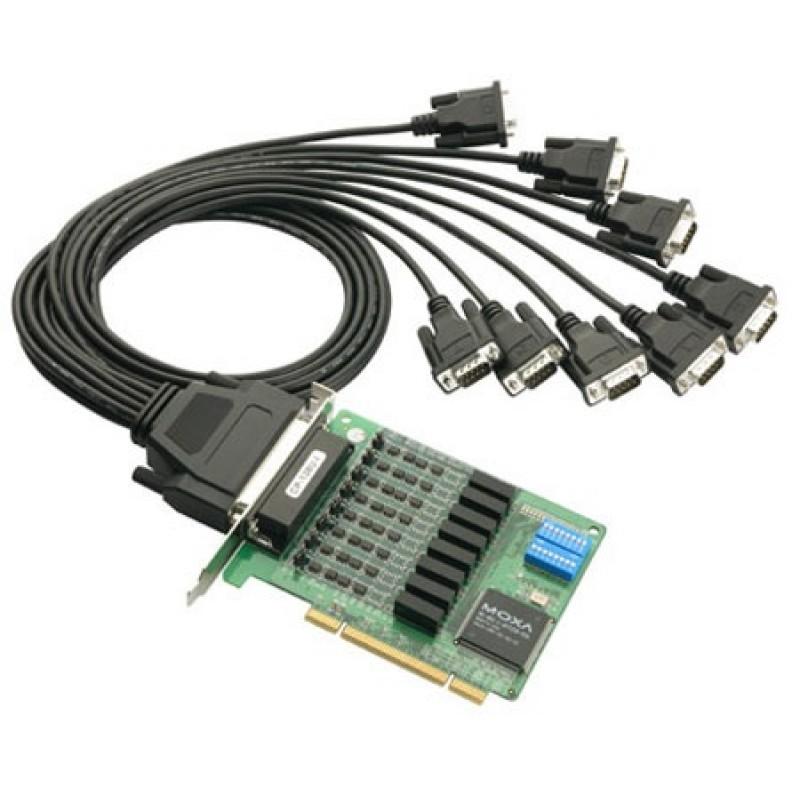 کارت مالتی پورت مبدل سریال به PCI موگزا MOXA CP-138U-I-T PCI serial board