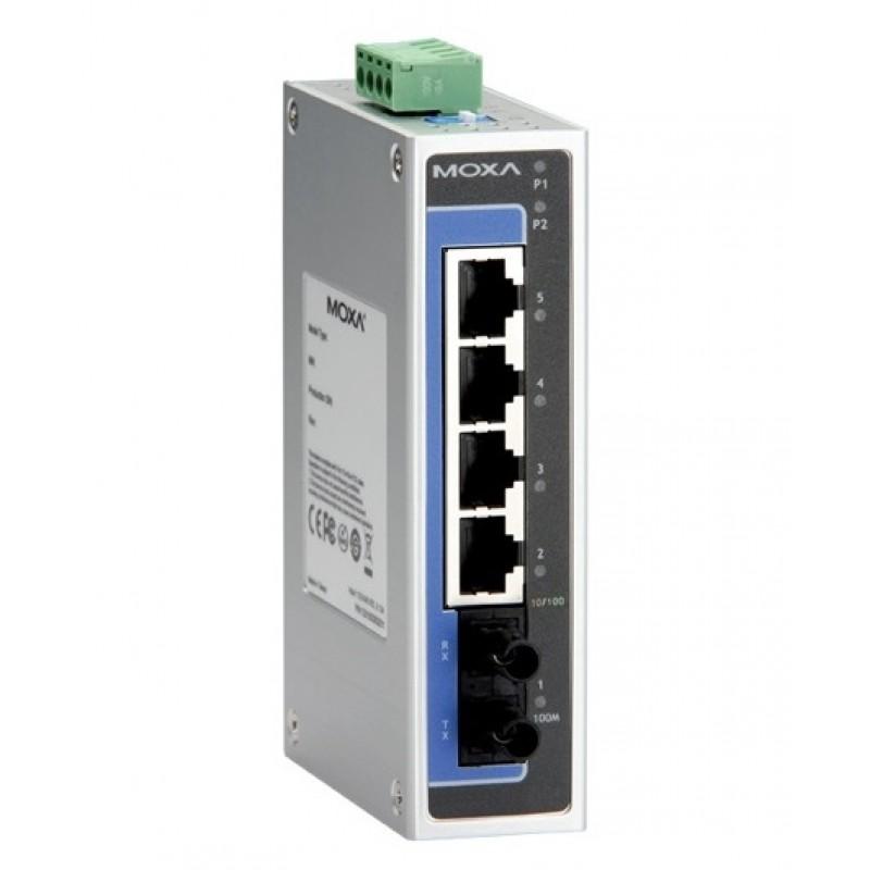 سوئیچ صنعتی موگزا MOXA EDS-205A-M-ST-T Unmanaged Ethernet Switches
