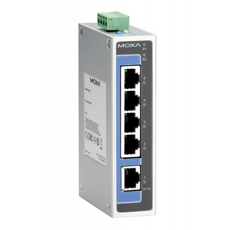 سوئیچ صنعتی موگزا MOXA EDS-205A-T Unmanaged Ethernet Switches