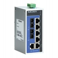 سوئیچ صنعتی موگزا MOXA EDS-208A-MM-SC Unmanaged Ethernet Switches