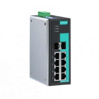 سوئیچ صنعتی موگزا MOXA EDS-G308-2SFP Unmanaged Ethernet Switches