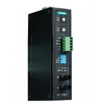 مبدل سریال به فیبر نوری صنعتی موگزا MOXA ICF-1150I-S-ST-T Serial to Fiber Converter