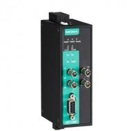 مبدل پروفی باس به فیبر نوری موگزا MOXA ICF-1280I-S-ST-T PROFIBUS to Fiber