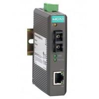 مبدل اترنت به فیبر نوری صنعتی موگزا MOXA IMC-21-S-SC Ethernet to Fiber Converter