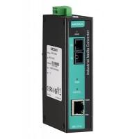 مبدل اترنت به فیبر نوری صنعتی موگزا MOXA IMC-21A-M-SC-T Ethernet to Fiber Converter