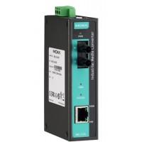 مبدل اترنت به فیبر نوری صنعتی موگزا MOXA IMC-21A-M-ST Ethernet to Fiber Converter