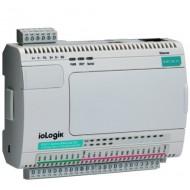 کنترلر هوشمند I/O صنعتی موگزا MOXA ioLogik E2214-T Smart Ethernet Remote I/O