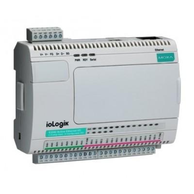 کنترلر هوشمند I/O صنعتی موگزا MOXA ioLogik E2242 Smart Ethernet Remote I/O