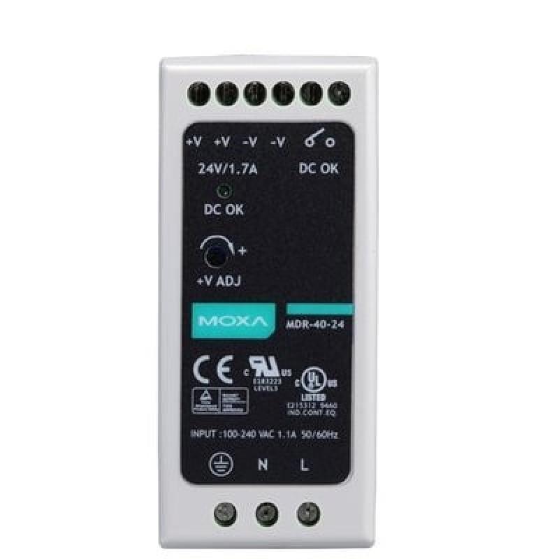 آداپتور صنعتی موگزا MOXA MDR-60-24 DIN-rail Power Supply
