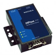 مبدل سریال به اترنت صنعتی موگزا MOXA NPort 5110 Serial to Ethernet Device Server