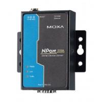 مبدل سریال به اترنت صنعتی موگزا MOXA NPort 5110A-T Serial to Ethernet Device Server