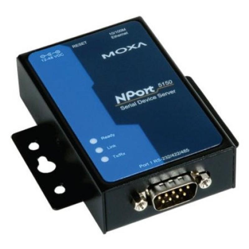 مبدل سریال به اترنت صنعتی موگزا MOXA NPort 5150 Serial to Ethernet Device Server