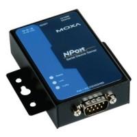 مبدل سریال به اترنت صنعتی موگزا MOXA NPort 5150A-T Serial to Ethernet Device Server