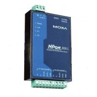 مبدل سریال به اترنت صنعتی موگزا MOXA NPort 5232-T Serial to Ethernet Device Server