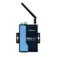 مبدل سریال به شبکه بی سیم صنعتی موگزا MOXA NPort W2150A-T Serial to Wireless Device Server