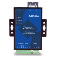 مبدل سریال به فیبر نوری صنعتی موگزا MOXA TCF-142-M-SC Serial to Fiber Converter