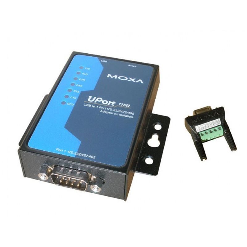 مبدل USB به سریال صنعتی موگزا MOXA Uport 1150I USB to Serial Converter