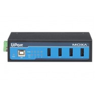 هاب USB صنعتی چهار پورت موگزا MOXA UPort 404-T 4-Port Industrial USB Hub