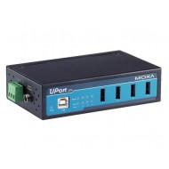 هاب USB صنعتی چهار پورت موگزا MOXA UPort 404 4-Port Industrial USB Hub