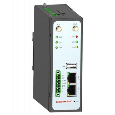 مودم روتر 4G صنعتی رباستل robustel GoRugged R3000-4L Dual SIM Industrial Cellular VPN Router